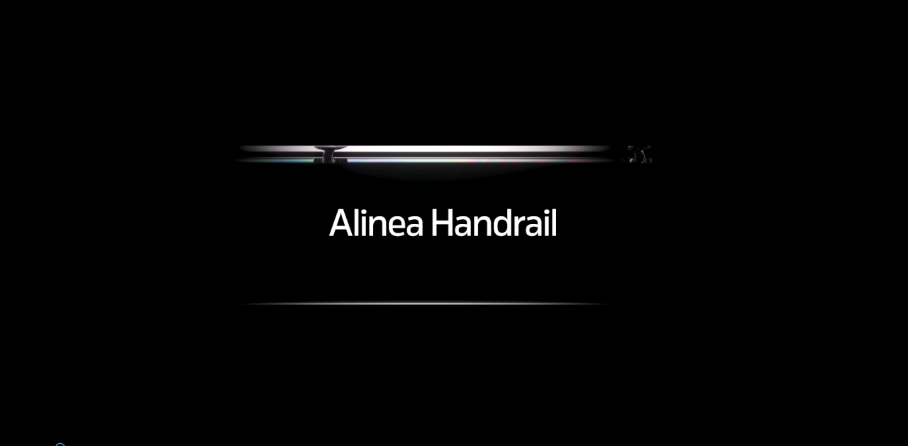 Alinea Handrail Video